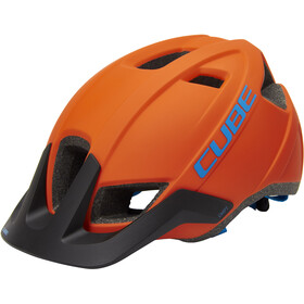 Cube CMPT Casque, orange'n'blue
